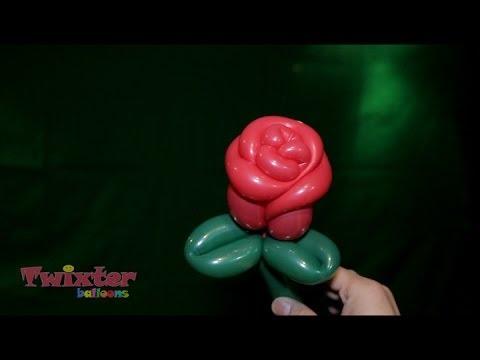 Twixter Balloon Rose Youtube