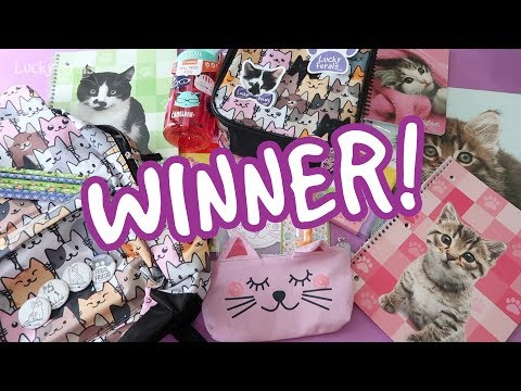 WINNER Selection! - Back To School/Work/Anywhere Giveaway!