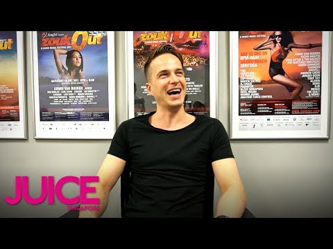"""Dannic spills on a hero from his """"trance addict"""" days 