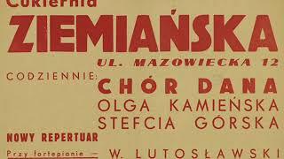 Old Tango 1931: Chór Dana - Nie będę płakał (I Won't Cry / If My Lover Leaves Me Tonight)