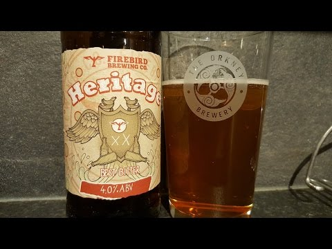 Firebird Heritage Best Bitter By Firebird Brewing Company | British Craft Beer Review