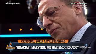 SORIA rompe a LLORAR en El CHIRINGUITO
