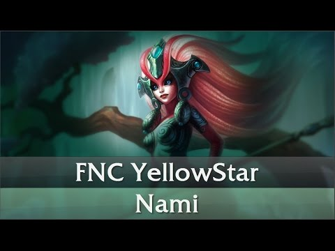 FNC YellowStar - Nami Support Gameplay Guide [European Challenger][06.06.2016]