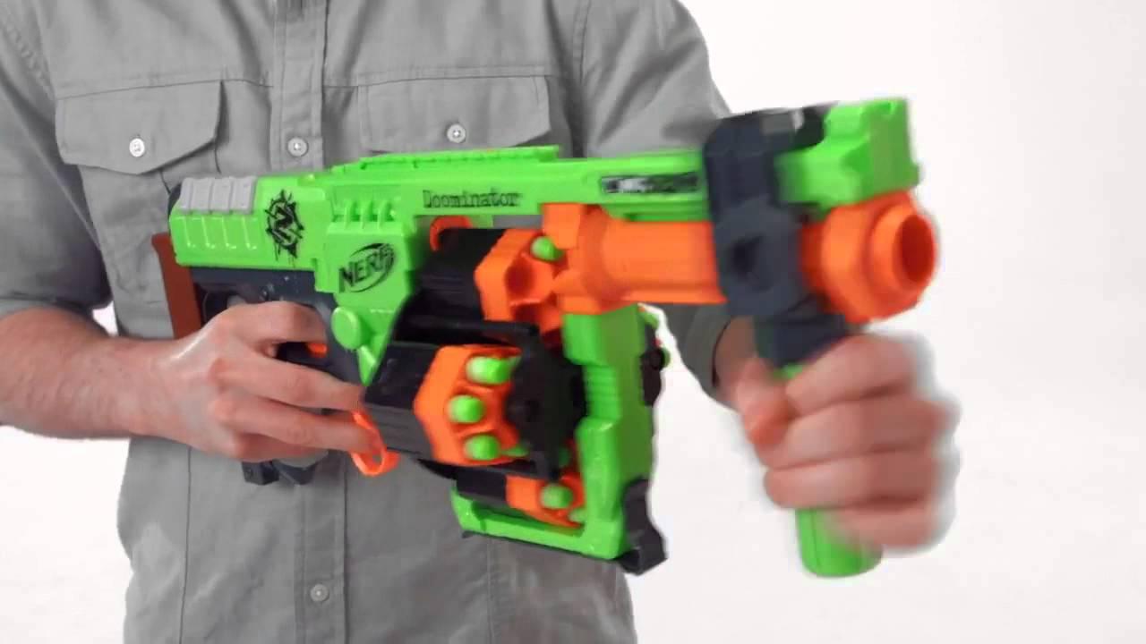 Бластер NERF Zombie Strike Doominator - последний охотник на зомби .