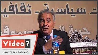"""بالفيديو.. فاروق جويدة: مرسى ألغى """"مأدبة غداء""""لسياسيين بسبب خطاب للسيسى"""