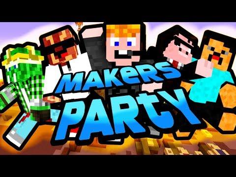Minecraft  Makers Party CSAK NE ARRA LÉPJ!