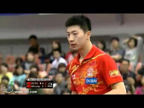 Ma Long vs. Xu Xin --- Korea Table Tennis Open  2013