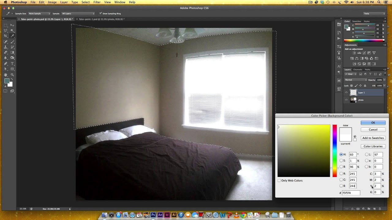 Try Out Colors In A Room