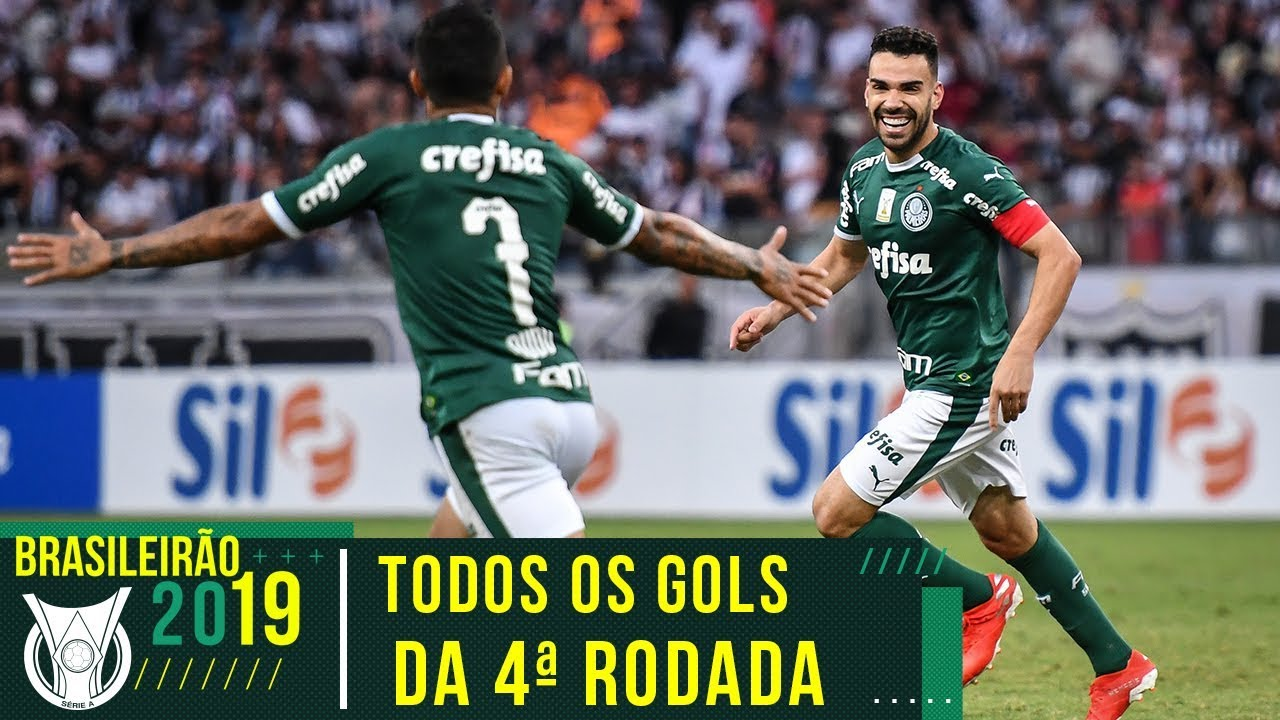 TODOS OS GOLS DA 4ª RODADA DO BRASILEIRÃO 2019 - YouTube