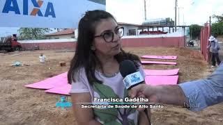 CREAS equipamento de assistência só enriquece a estrutura social do município; obra deve ser entregu