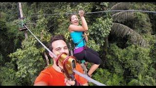 Krabi, Thailand #20 - Zip-Line Thailand!!