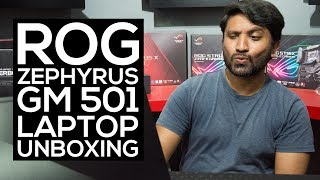 ROG Zephyrus GM501 Laptop Unboxing   Redline Technologies