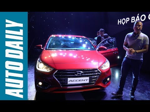 Hyundai Accent 2018 giá từ 425 triệu đồng: Quyết đấu Toyota Vios |AUTODAILY.VN|