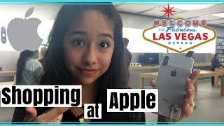 SHOPPING FOR THE IPHONE X IN LAS VEGAS!!