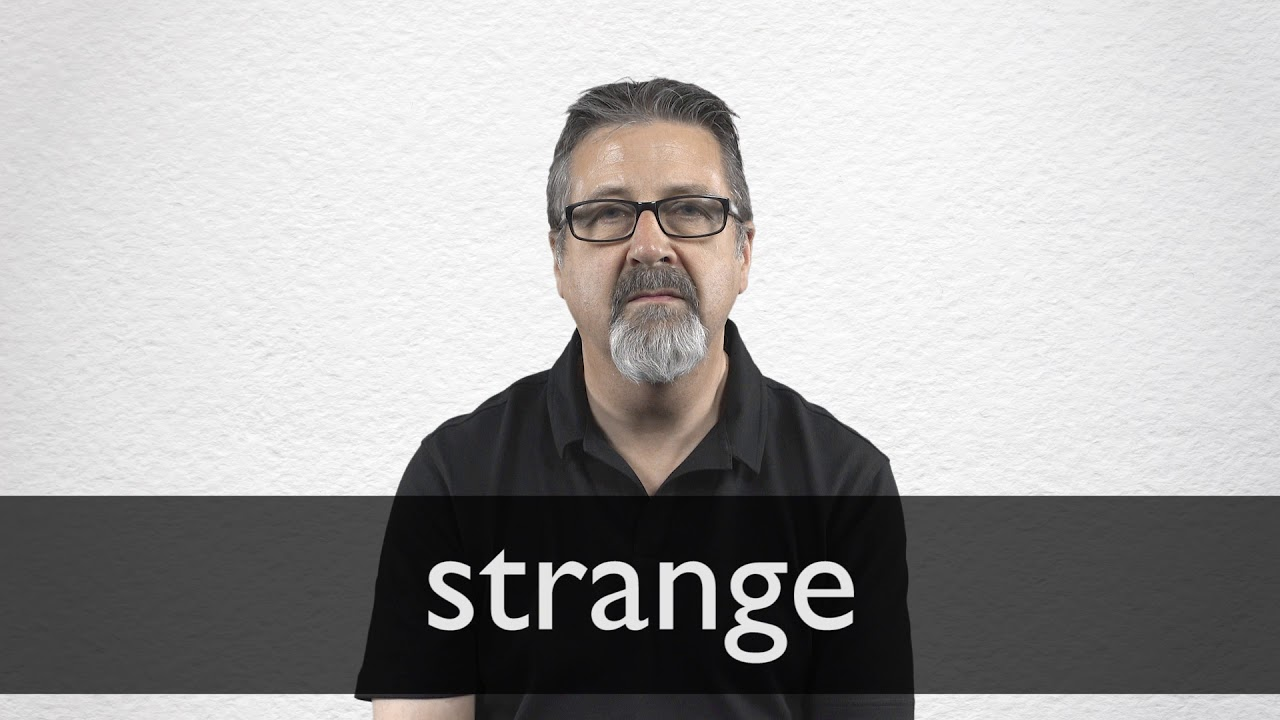 "Hindi Translation of ""strange"" 