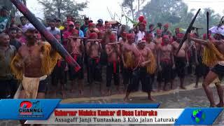 Gubernur Maluku Kunker di Desa Laturake