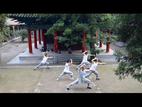 Learn kung fu at the Shaolin Temple - with CK Martial Hearts