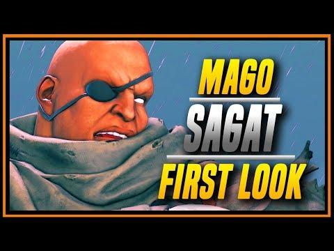 SFVAE ➤ First Look Mago2d God Sagat Compilation [ Street Fighter V ]