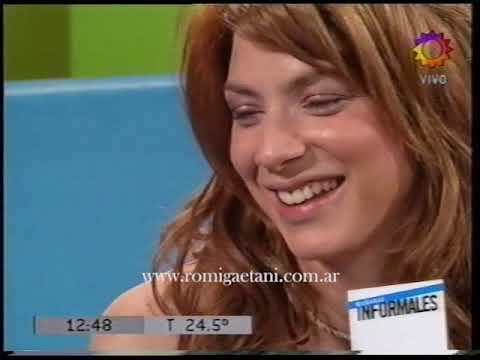 Romina Gaetani en Mañanas Informales (01/11/2005)