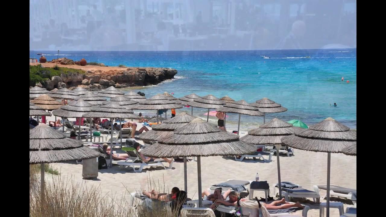 Смотреть Vassos Nissi Plage 4* Кипр - Отели Кипра Первая Линия .