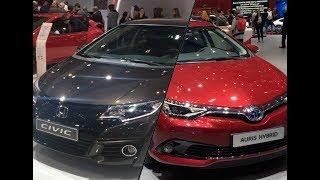 2017 Toyota Auris vs. 2017 Honda Civic