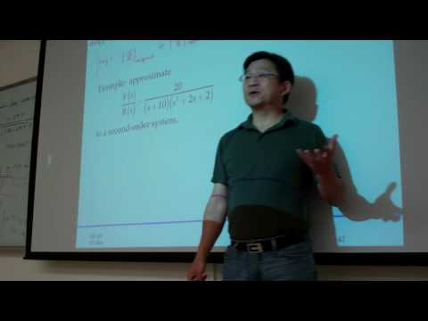 15 3 Approximate higher order systems by lower order systems