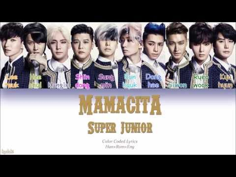 Super Junior (슈퍼주니어) – MAMACITA (아야야) (Color Coded Lyrics) [Han/Rom/Eng]