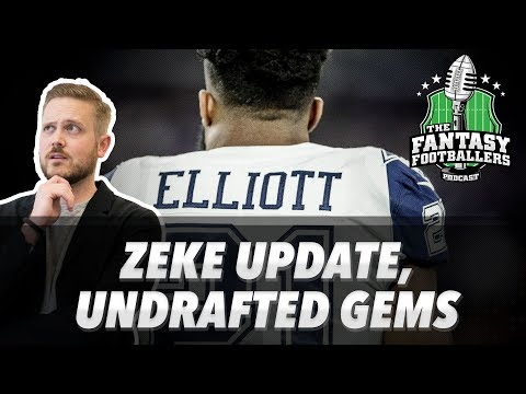 Fantasy Football 2017 - Zekepocalypse + Undrafted Gems, Pump the Brakes - Ep. #430