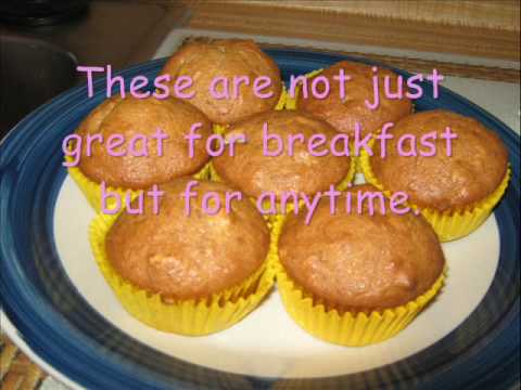 how to make banana nut bread muffins