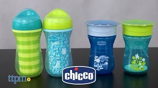 Natural Fit Insulated Rim Spout Trainer & Natural Fit 360 Rim Trainer from Chicco