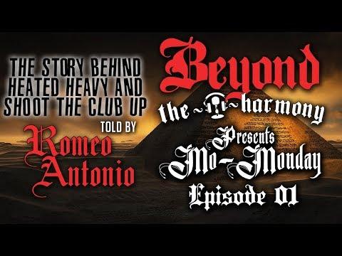 """Mo Monday E01 - The story behind """"Heated Heavy"""" & """"Shoot The Club Up"""" with Romeo Antonio"""