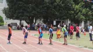 麥寮國小第95屆六年級男生400公尺接力賽