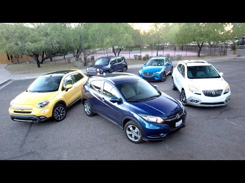 2016 Subcompact SUV Comparison Kelley Blue Book