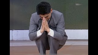 Meditative exercise to relieve nervous tension| CCTV English