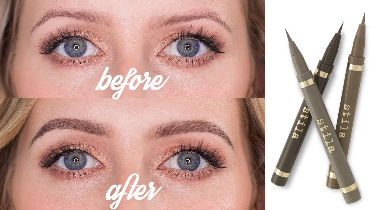 Eyebrow Tattoo Effect How To Create Microbladed Eyebrows Youtube