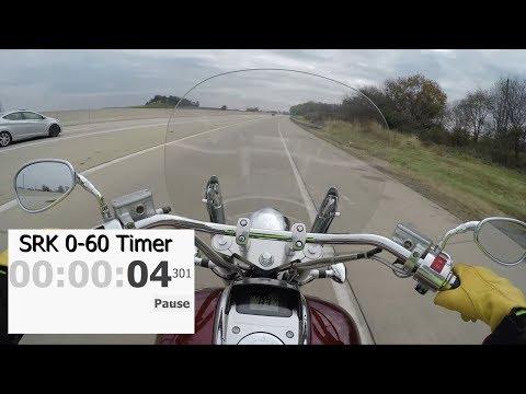 Honda VTX 1800 Real Time 0-60