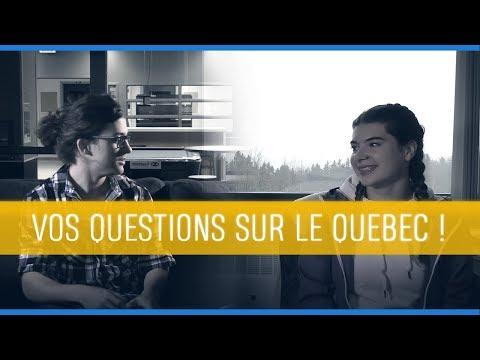 #1 ILS REPONDENT À VOS QUESTIONS SUR LE QUEBEC ET LE CEGEP DE MATANE !