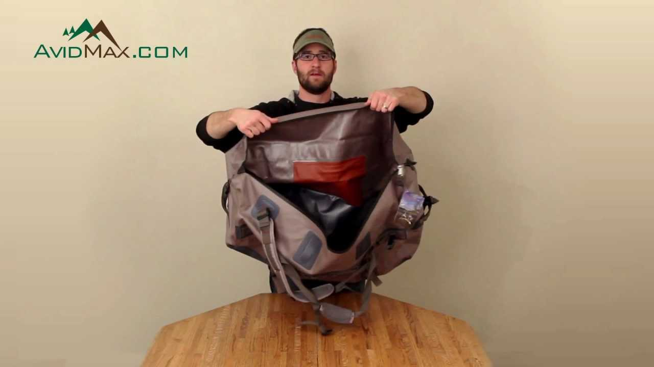 Fishpond westwater large zippered duffel product overview for Fishpond products