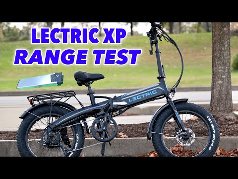 Lectric XP Battery Range Test and tips. How far can my 500w E-Bike go?
