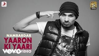 Nambardar - Yaaro Ki Yaari | Da Future | Lyric Video