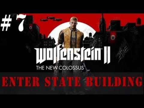 Wolfenstein Enter State Building