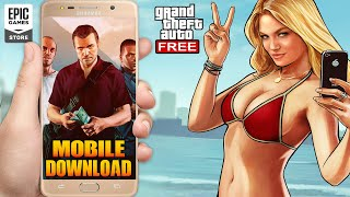 GTA 5: How to DOWNLOAD by MOBILE | Step by Step Guide | GTA 5 Free Download