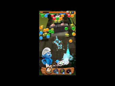 Smurf Bubble Story Game Level 51 | The Lost Village Game | Boss Comes Here