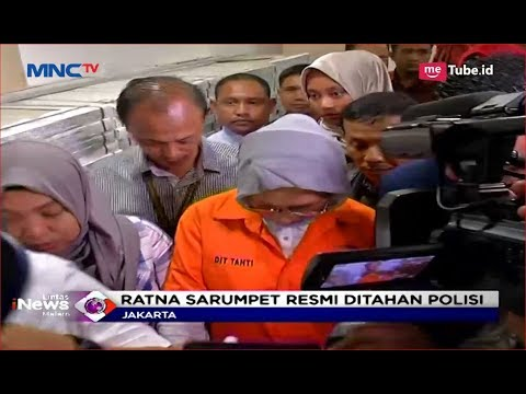 Berseragam Orange, Ratna Sarumpaet Resmi Ditahan Polisi Soal Kasus Hoaks - LIM 05/10