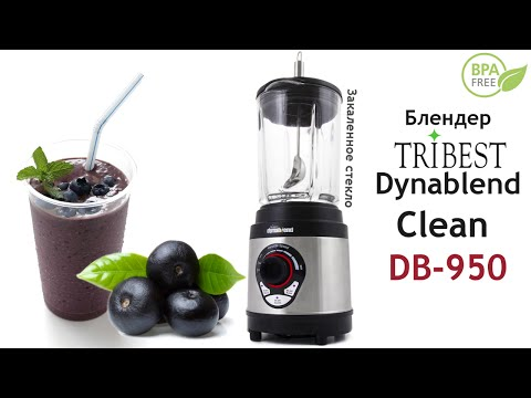 Коктейль из ягод Асаи в блендере Tribest Dynablend Clean DB-950