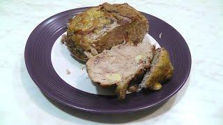 Свинина запеченная в духовке Вкусно Просто Сытно Pork baked in the oven