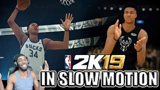 REACTION To NBA 2K19 FIRST GAMEPLAY TRAILER - TAKE THE CROWN (IN SLOW MOTION) FULL BREAKDOWN
