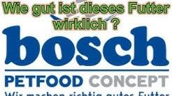 """Wie gut ist das Hundefutter von """"Bosch"""" wirklich ? / Hundefutter im Test  / Nature Trails"""