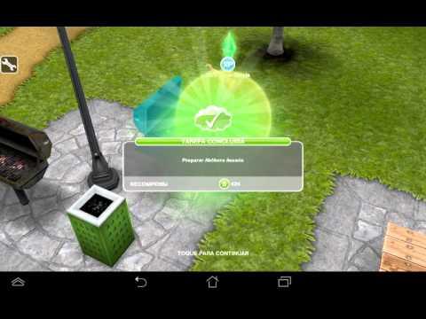 Missão Noite dos monstros de doce #4-The Sims Freeplay
