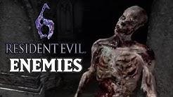Resident Evil 6 [PS3] - All Regular Enemies Compilation